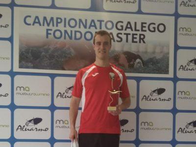 David Rodríguez BRONCE en el Campeonato de España de Fondo Master