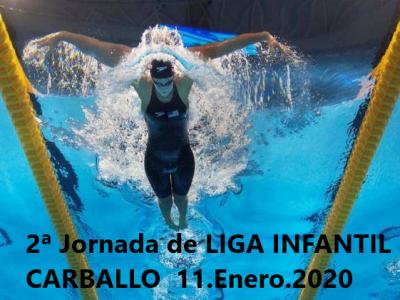 Resultados 2ª Jornada Liga Infantil Carballo 11.Enero.2020